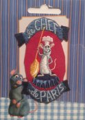 510300040000 Disney pixlar le chef de Paris patch patches applikation att stryka på
