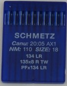 136110 Nål 134 LR Leather 110/18 10-pack SCHMETZ,135x8 R, PFx134 LR