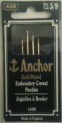 Synålar+Embrodery.+Anchor.+