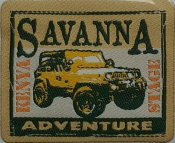Savanna+Adventure+Kenya+Stage+Jeep+Rally+P&B+Art+715+col.233+233+art715