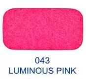 20525-043 Kardborreband 20mm/0,5 M sys fast hook & loop Lovetex LUMINOUS PINK