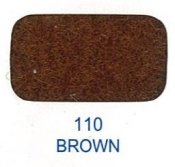 20525-110 Kardborreband 20mm/0,5 M sys fast hook & loop Lovetex BROWN