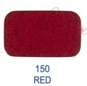 20525-150 Kardborreband 20mm/0,5 M sys fast hook & loop Lovetex RED