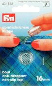 431862 PRYM - Fingerborg 16,0 mm SILVER Thimble zinc die-cast silver col 16.0 mm