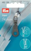 482138 PRYM - Dragkedjehänge Eyelet Svart Fashion Zipper pullers Eyelet metal black