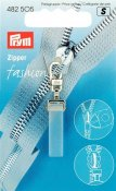 482505 PRYM - Dragkedjehänge Crystal Fashion Zipper puller Crystal plastic/metal transparent matt