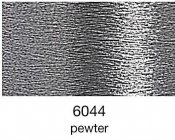 9844-6044 MADEIRA Heavy Metal 50% Polyester/50% Metalliserad Polycester. 6044 Pewterl 200M