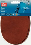 929353 PRYM - Laglapp imitationsläder 10x14 cm Kamel 2-pack Patches leatherette sew-on 10 x 14 cm camel