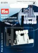 611974 PRYM - Dold blixtlåsfot  Special zipper foot for Sewing Machines for non-visible zips