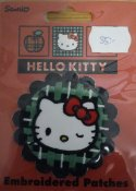 Hello kitty 65 mm x 65 mm.