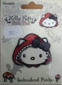 Hello kitty 53 mm x 47 mm.