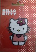 Hello kitty 55 mm x 63 mm.