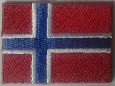 Textra+Flagga+Norge+Norsk