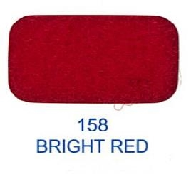 20525-158 Kardborreband 20mm/0,5 M sys fast hook & loop Lovetex BRIGHT RED