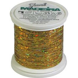 9843-525 MADEIRA Spectra 100% Polyester 525 GOLD 100M