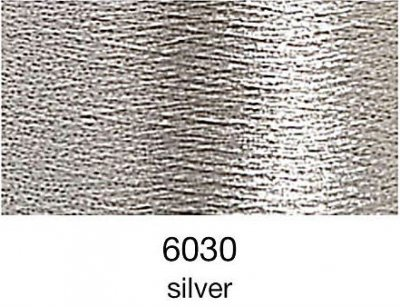 9844-6030 MADEIRA Heavy Metal 50% Polyester/50% Metalliserad Polycester. 6030 Silver 200M