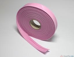 903281 PRYM - Snedremsa Bomull rosa 40/20 mm 30M Bias Binding Cotton 40/20 mm pale pink