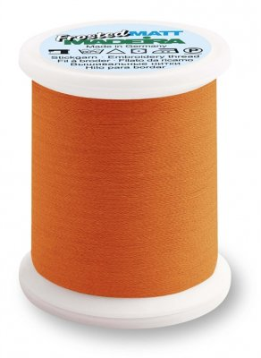 9848-7946 MADEIRA Frosted Matt No.40 Neon Orange 500M