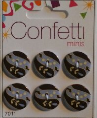 Confetti+minis+7011+Knapp+Knappar+Button+Fashion+B.V.