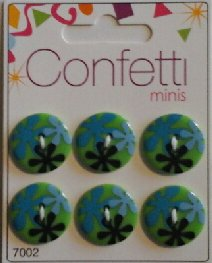 Confetti+minis+7002++Knapp+Knappar+Button+Fashion+B.V.