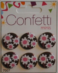Confetti+minis+7007+Knapp+Knappar+Button+Fashion+B.V.