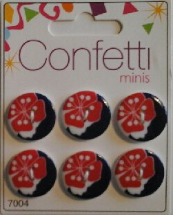 Confetti+minis+7004+Knapp+Knappar+Button+Fashion+B.V.
