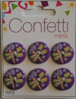 Confetti+minis+7012+Knapp+Knappar+Button+Fashion+B.V.