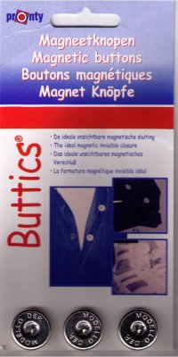 magnetknappar Buttics 15 mm