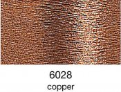 9844-6028 MADEIRA Heavy Metal 50% Polyester/50% Metalliserad Polycester. 6028 Copper, 200M