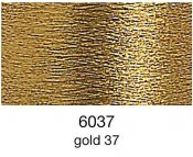 9844-6037 MADEIRA Heavy Metal 50% Polyester/50% Metalliserad Polycester. 6037 Gold 37, 200M